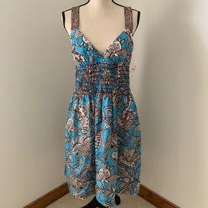 Trina Turk Size 10 Dress NWT. 100% Silk